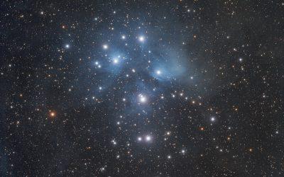 Plejaden, M45